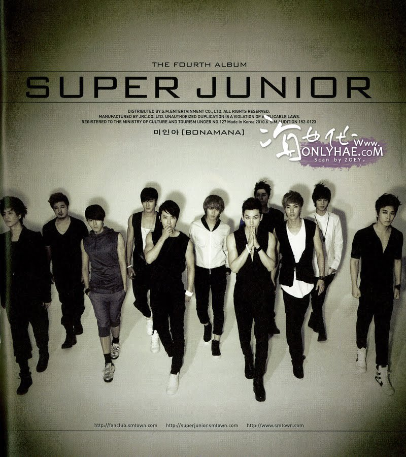 super junior bonamana mv 1080p or 1080i